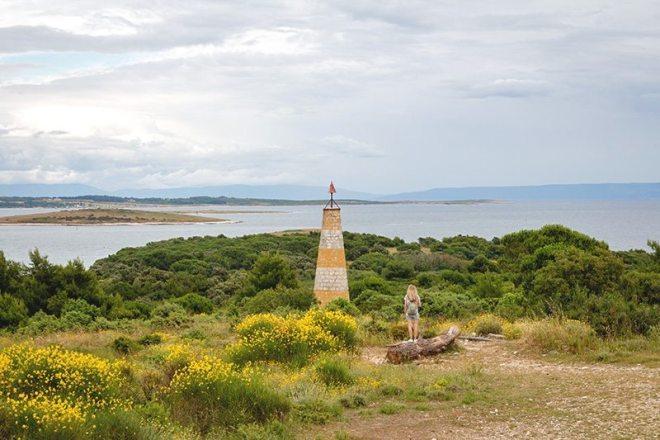 Schönste Natur auf der Fahrradtour durch das Kap Kamenjak in Istrien - Kroatien