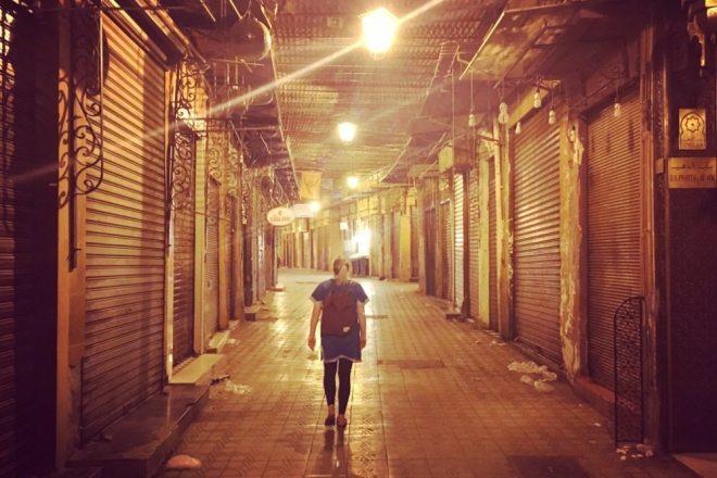 Marrakesch Highlights: Medina bei Nacht