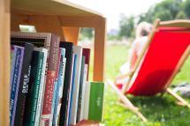 Open Air Bibliothek im Tivoli Park - Ljubljana-Tipp