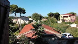 Ausblick von unserer Unterkunft in Porticcio