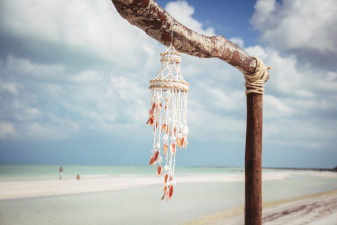 Wunderschön: Der Strand auf der Isla Holbox