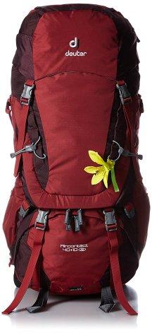 deuter backpack rucksack fuer damen 40 + 10 liter