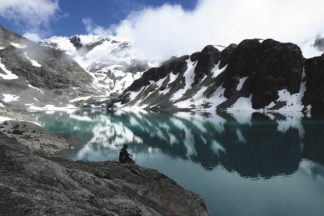 Farmarbeit Kanada und Reisen - Highlight Wedgemount Lake