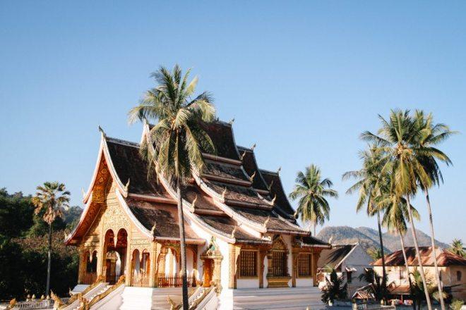 tempel zentrum altstadt von luang prabang