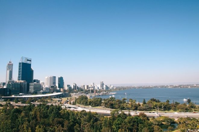 Ausblick vom Kings Park in Perth