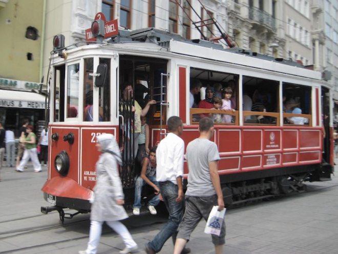 Objekt im Bild Einfrieren - hier auf meiner Reise in Istanbul