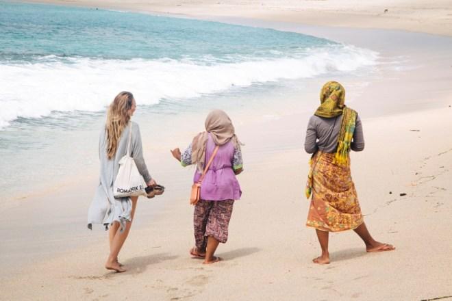 Rund um Kuta auf Lombok können Händler doch sehr penetrant auftreten