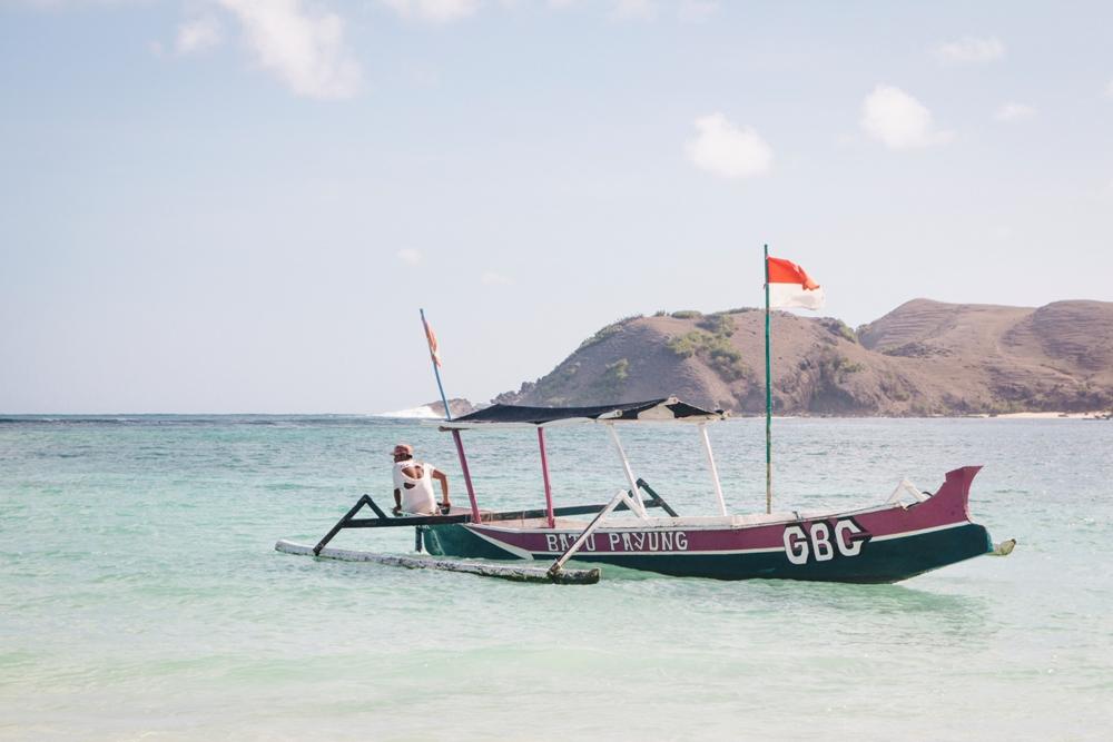 Lombok Kuta Highlights wie hier am Strand Tanjung Aan