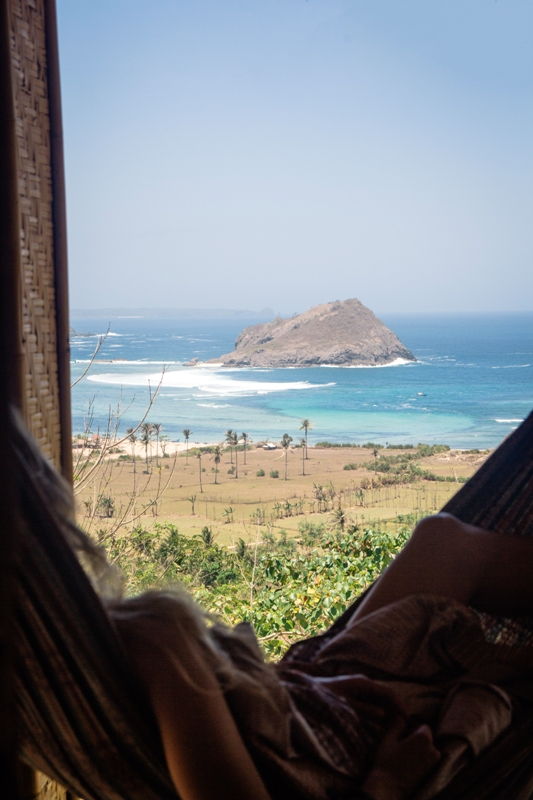Lombok Kuta Unterkunft und Highlight - AirBnB am Strand Are Guling