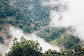 Ausblick vom Little Adams Peak in Ella - dem Sri Lanka Backpacking Highlight