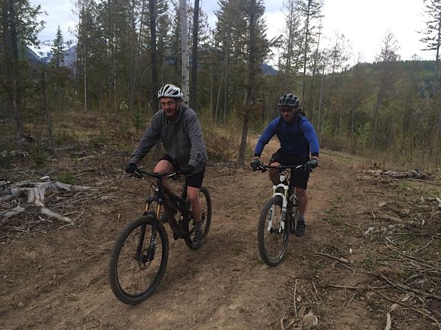 Fernie mountain biking
