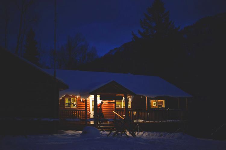 The lodge at Fernie Wilderness Adventures