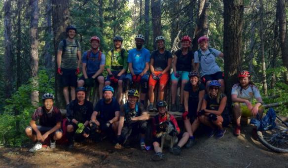 Group Mountain Bike Ride