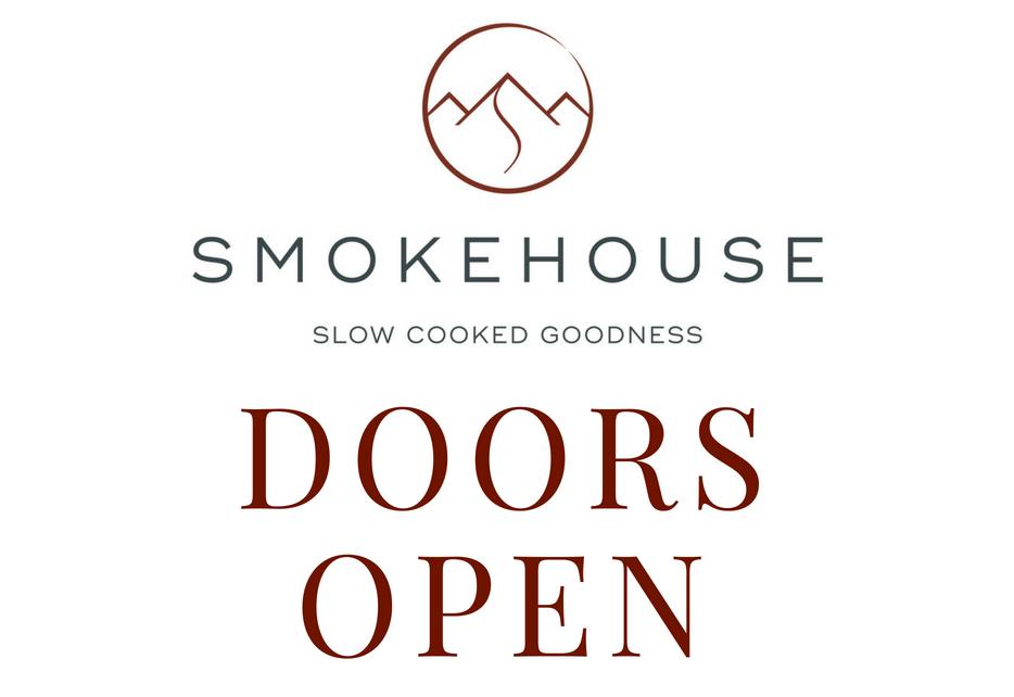 Smokehouse Doors Open