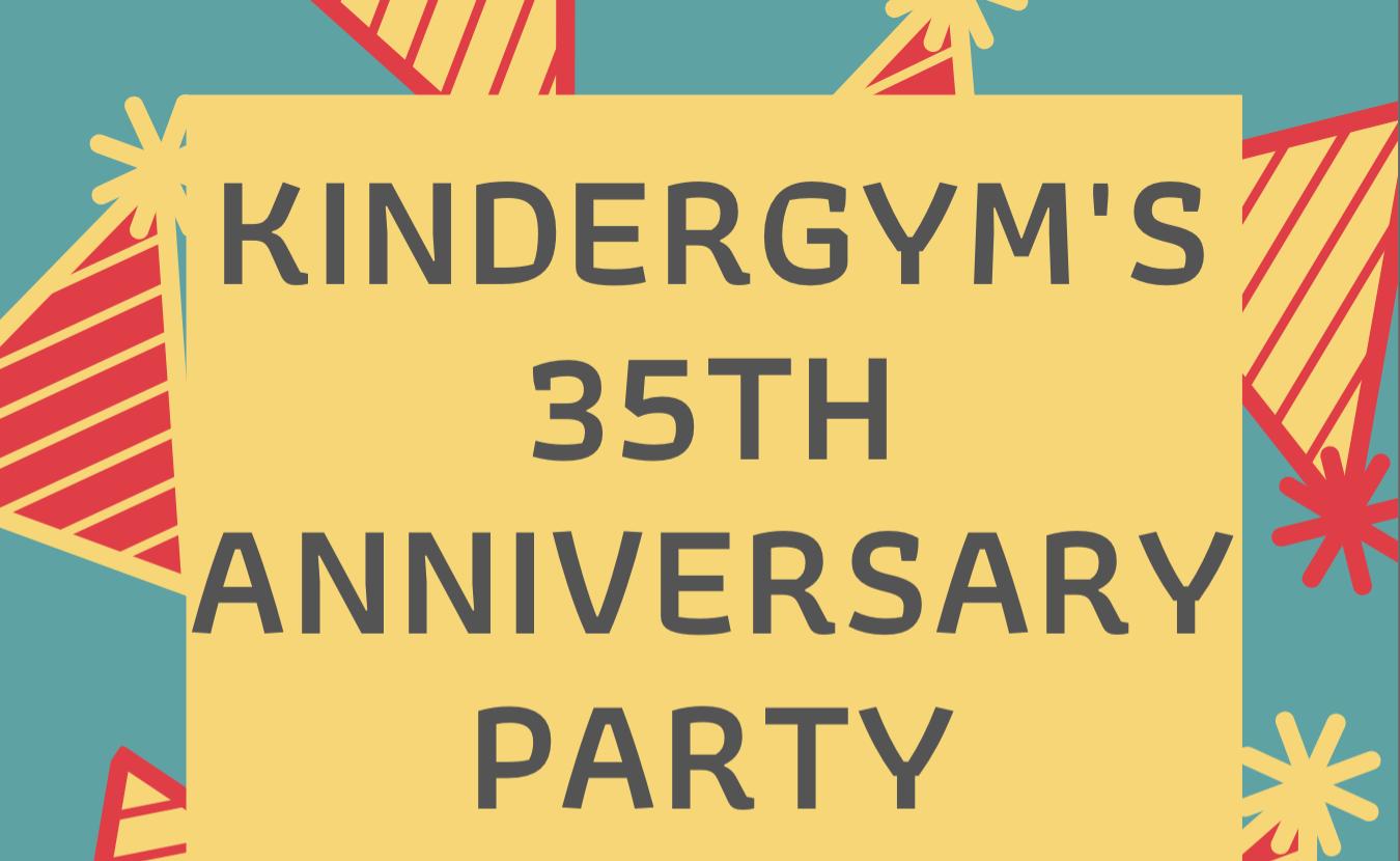 Fernie Kindergym 35 Anniversary Party