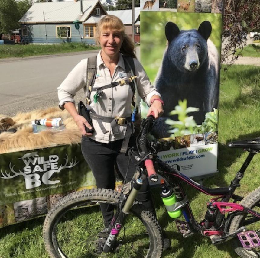 Bear Safety for Mountain Bikers Presentation via Zoom