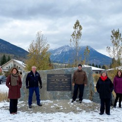 West Fernie Servicing and Restructure Project Plaque Unveiled