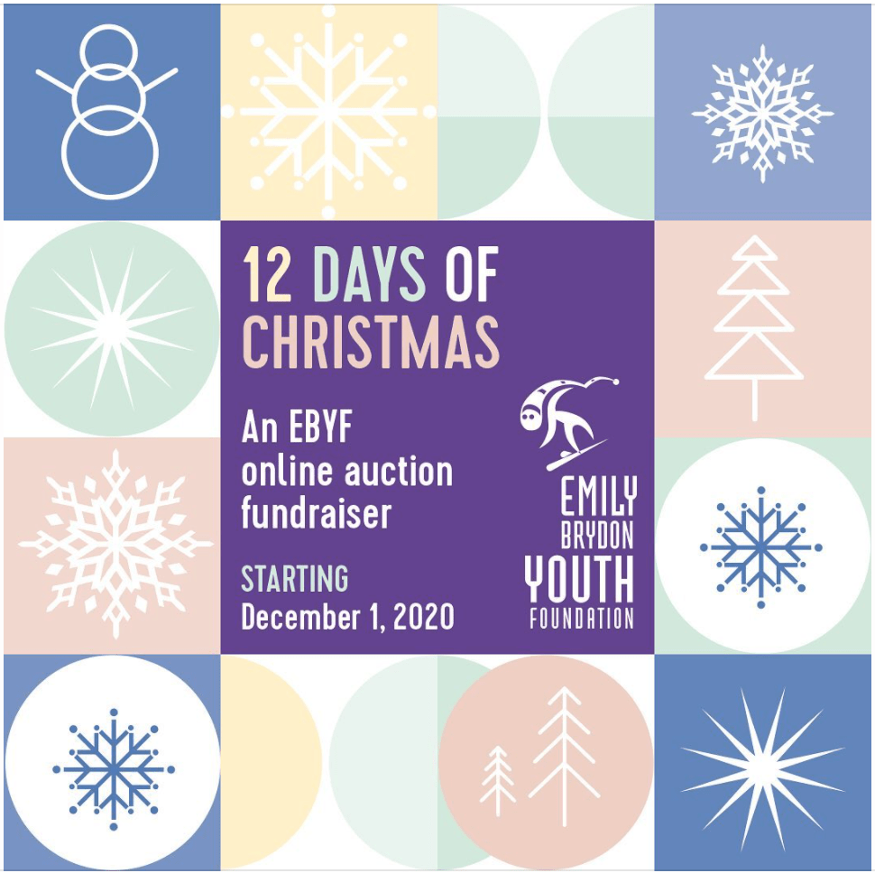 EBYF 12 Days of Christmas fundraiser