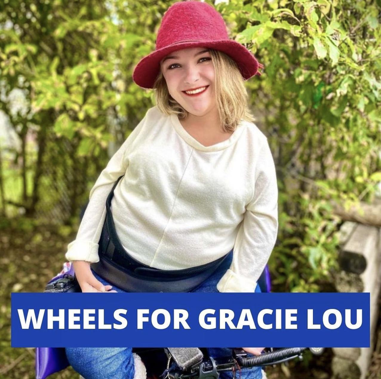 Wheels for Gracie Lou Silent Auction