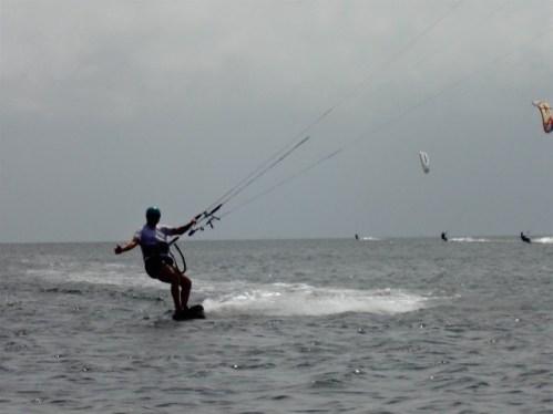 Ron Kite sailing