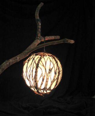 Tree Branch Lantern Globe