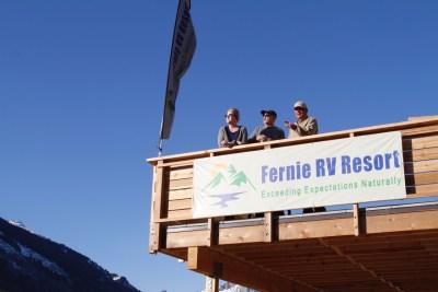 Fernie Rv Resort shelly reto dan
