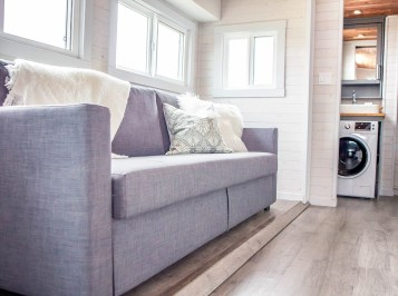 Fernie tiny home sofa