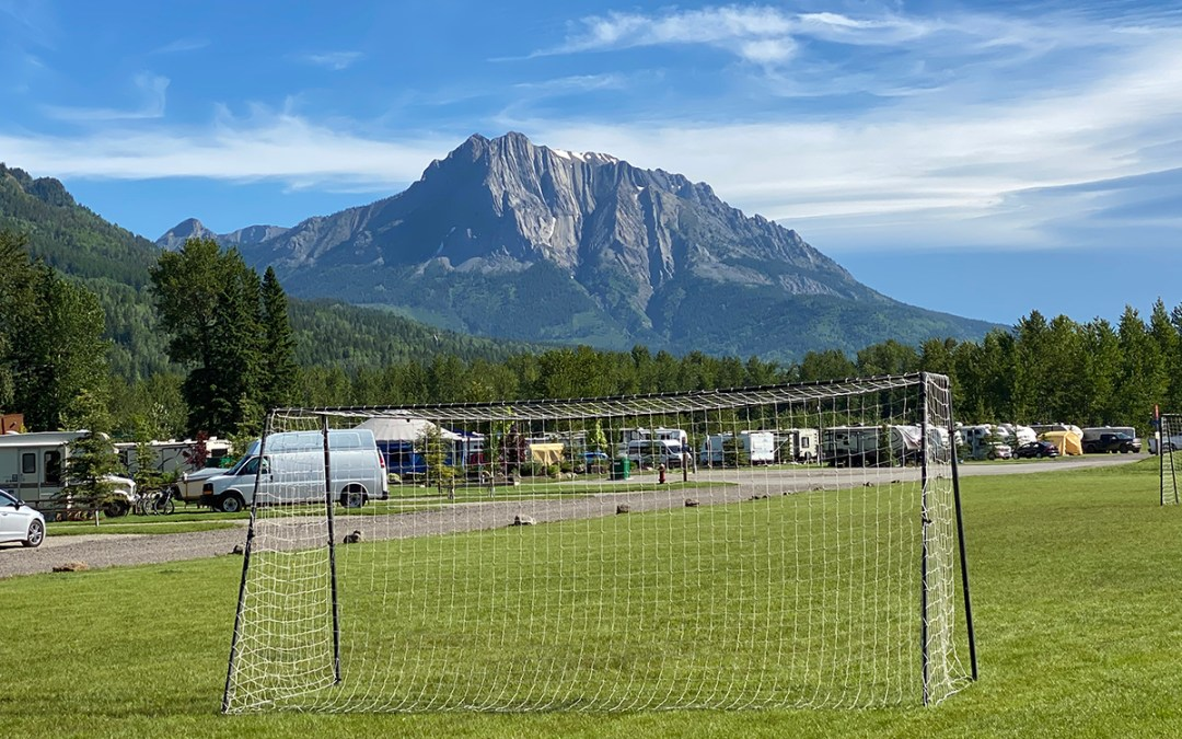 Summer at the Fernie RV Resort