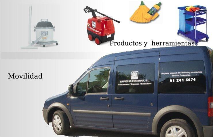 Empresa de limpieza, Servicios Integrales en Madrid, Fernimar