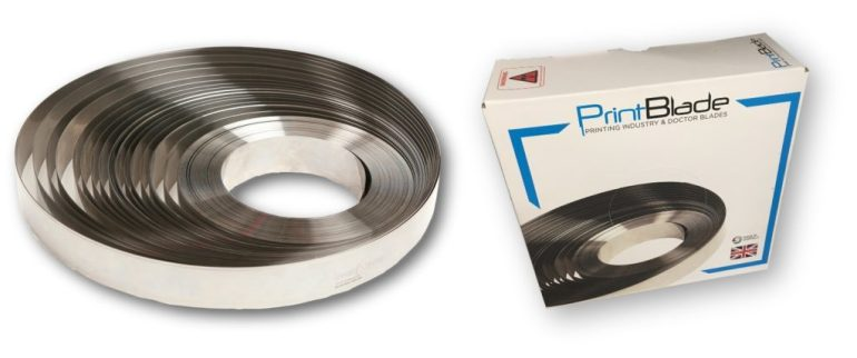 The UK manufactured doctor blade - PrintBlade by Fernite