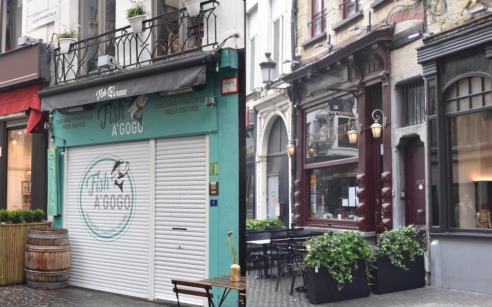 Für Foodies: Restaurants und Bar in Antwerpen - Fish a Gogo und De Pottkijker