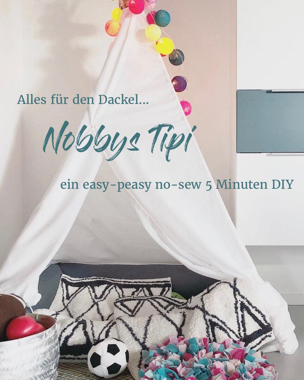 easypeasy no sew DIY-Tipi für den Hund