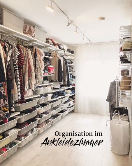 Organisation im Ankleidezimmer - Tipps und Ideen für den begehbaren Kleiderschrank