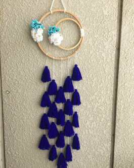 Decorative Home Blue Dream Catcher