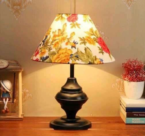 Multicolor Shade Table Lamp