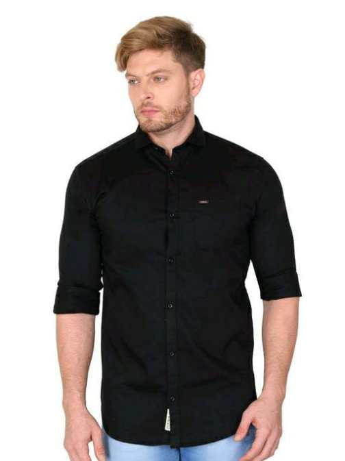 Party Wear Solid Shirt