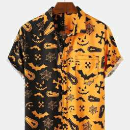 Patchwork Funny Shirt