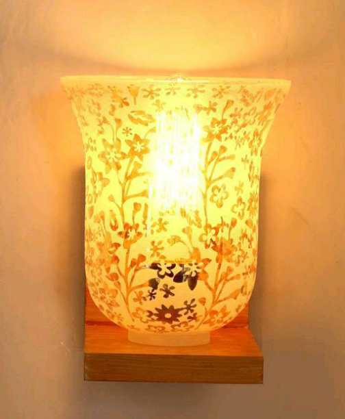 Wall Lamp with Fancy Lampshades