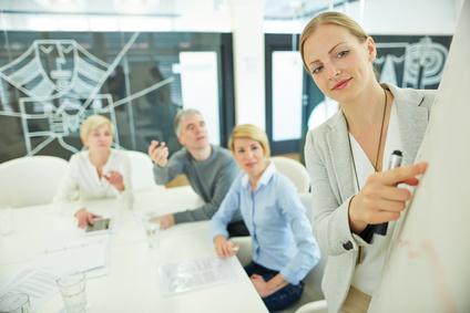 <strong>Werden Sie ein guter Trainer oder Dozenten. Mit dem Fernkurs Train the Trainer!</strong><br/>© Robert Kneschke - Fotolia.com