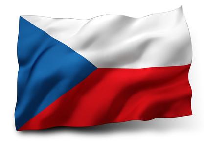 <strong>Die Flagge Tschechiens ist seit 30. März 1920 unverändert.</strong><br/>© mozZz - Fotolia.com