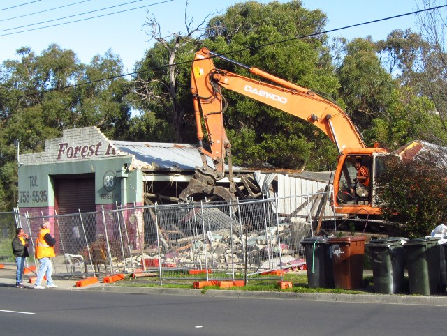 Demise of the panel beater shop