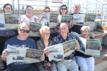 Gully News readers on a Princess Cruise of the Great Barrier Reef.