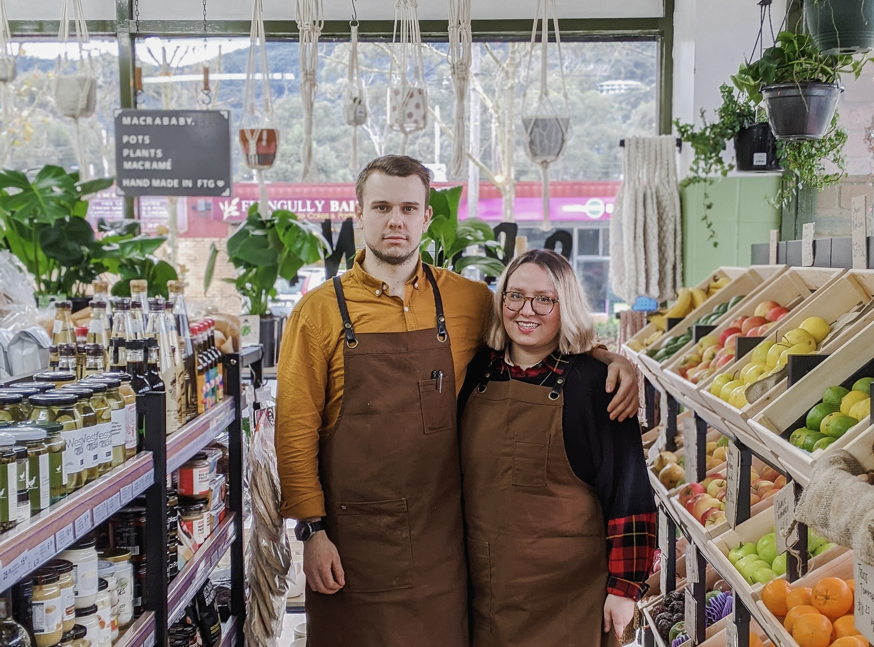 The newest addition to Station Street – an organic grocer