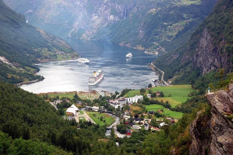 Geiranger Fjord, Norwegen