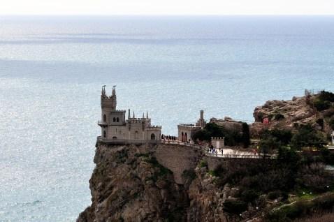 Schwalbennest bei Jalta, Krim