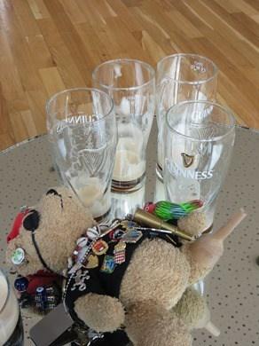 Guinness Storehouse Dublin Jack Bearow betrunken Irland