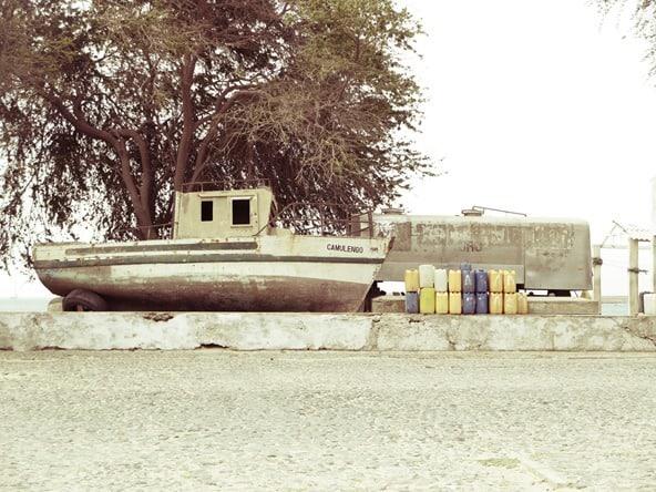 Sal Rei Boot Lager Boa Vista Kapverden