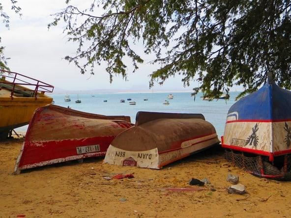 Sal Rei Boote Boa Vista Kapverden
