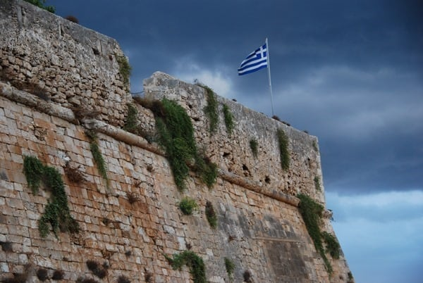 Fortezza Rethymnon Kreta Griechenland