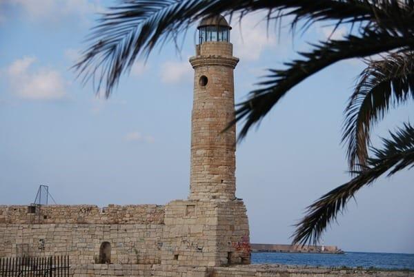 Venezianischer Hafen Rethymnon Kreta Griechenland